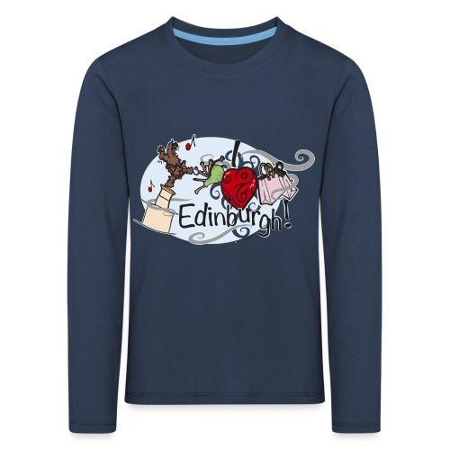 I love Edinburgh - Kids' Premium Longsleeve Shirt