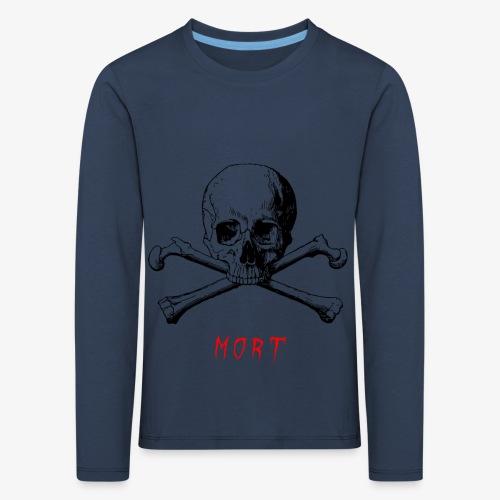MORT - T-shirt manches longues Premium Enfant