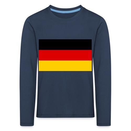2000px Flag of Germany svg - Kinder Premium Langarmshirt