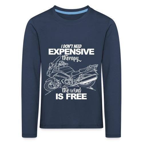 0881 FJR wind is free - Kinderen Premium shirt met lange mouwen