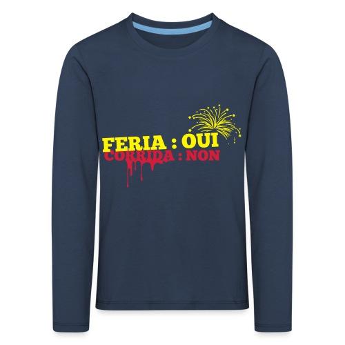 feria - T-shirt manches longues Premium Enfant