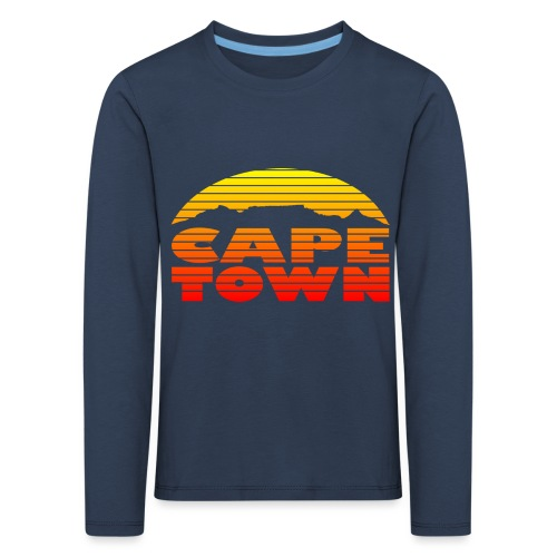 TableMountain-Sunset - Kinder Premium Langarmshirt