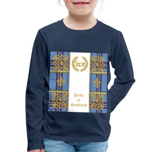 pride of scottland clan - Kinder Premium Langarmshirt