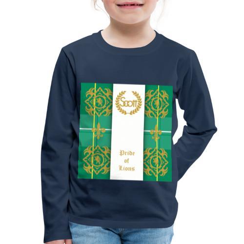 pride of lions clan - Kinder Premium Langarmshirt