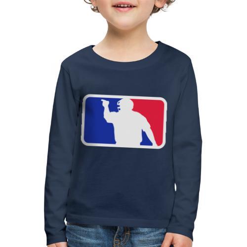 Baseball Umpire Logo - Kids' Premium Longsleeve Shirt