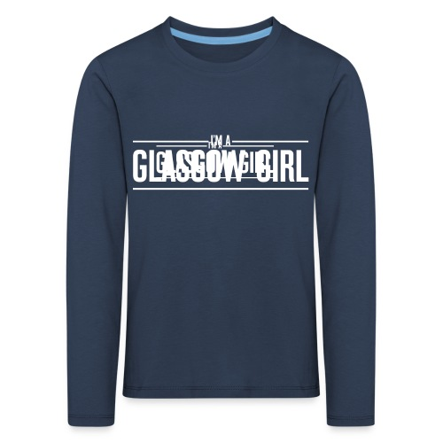 Glasgow Girl t-shirt - Kids' Premium Longsleeve Shirt