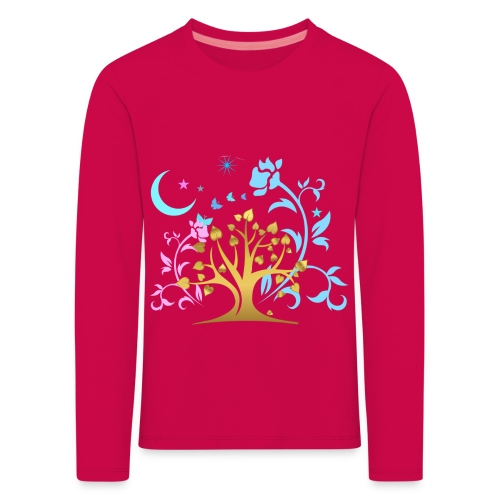 Mystic Tree - Kinder Premium Langarmshirt