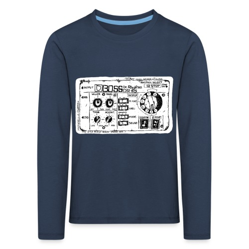 Drum Machine's R Ace! - Kids' Premium Longsleeve Shirt