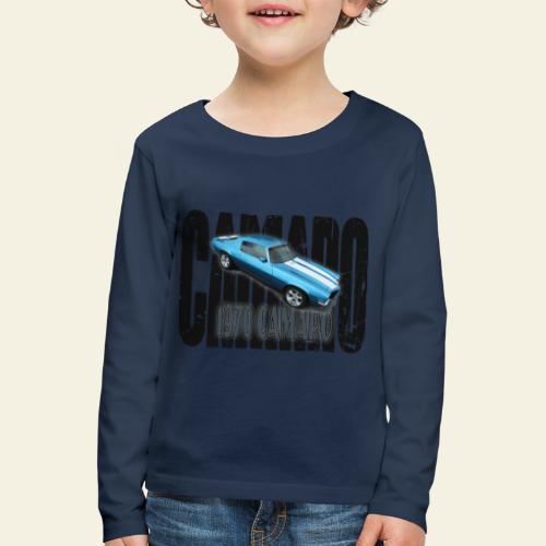 70 Camaro - Børne premium T-shirt med lange ærmer