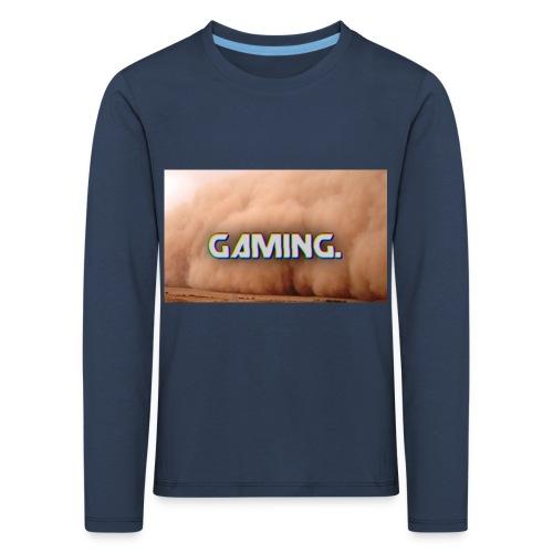 GamingDust LOGO - Kids' Premium Longsleeve Shirt