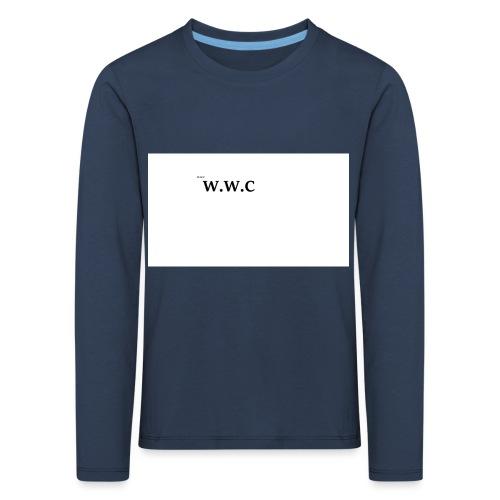 White Wolf Clothing - Børne premium T-shirt med lange ærmer