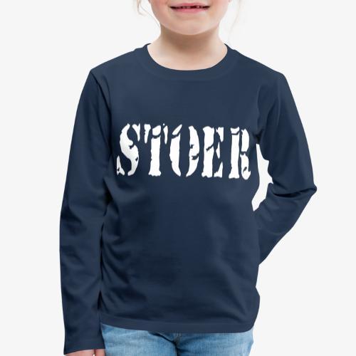 stoer tshirt design patjila - Kids' Premium Longsleeve Shirt