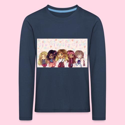 bggals png - T-shirt manches longues Premium Enfant