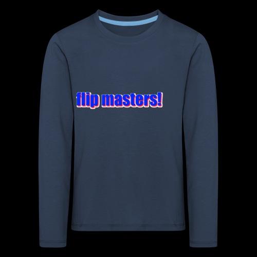 sappig - Kinderen Premium shirt met lange mouwen