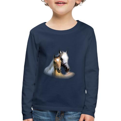 cheval - T-shirt manches longues Premium Enfant