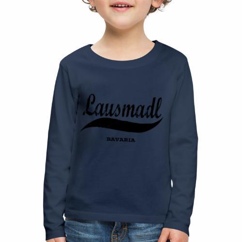 LAUSMADL BAVARIA - Kinder Premium Langarmshirt