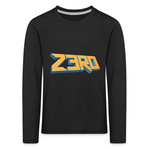 The Z3R0 Shirt - Kids' Premium Longsleeve Shirt