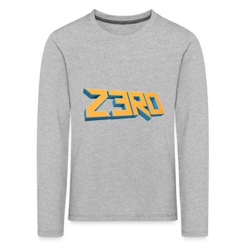 The Z3R0 Shirt - Kids' Premium Longsleeve Shirt
