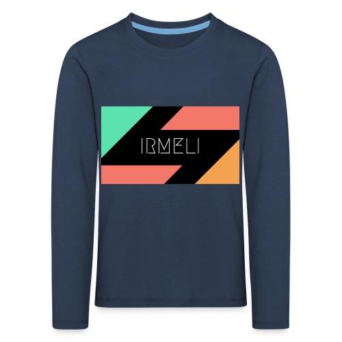 1 - Lasten premium pitkähihainen t-paita