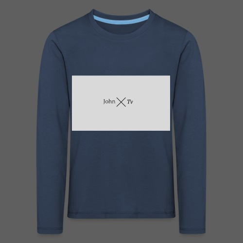 john tv - Kids' Premium Longsleeve Shirt