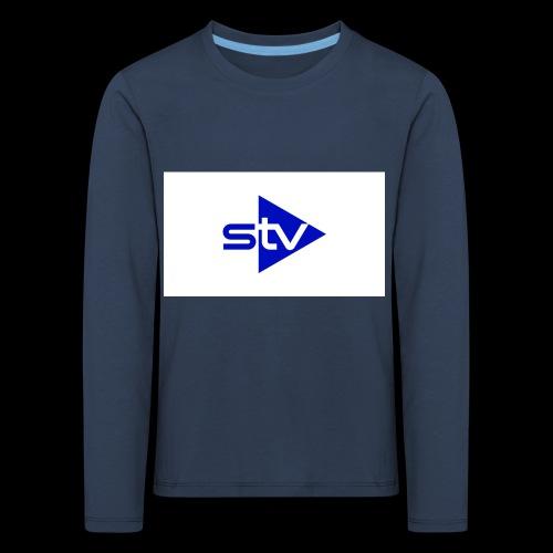 Skirä television - Långärmad premium-T-shirt barn