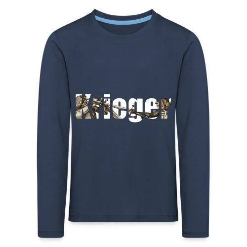 krieger - Kinder Premium Langarmshirt