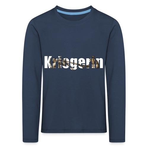 kriegerin - Kinder Premium Langarmshirt