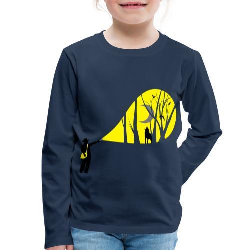 Explorateur vie sauvage - T-shirt manches longues Premium Enfant