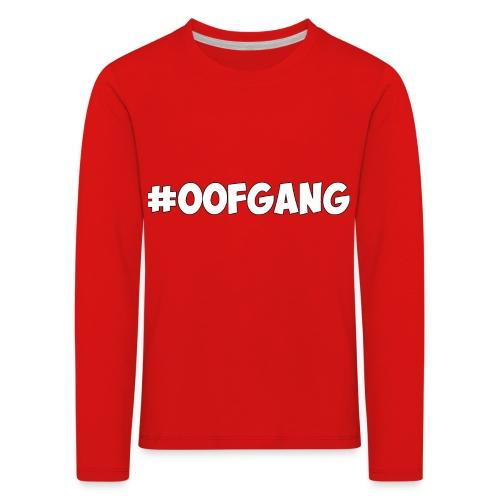 #OOFGANG MERCHANDISE - Kids' Premium Longsleeve Shirt