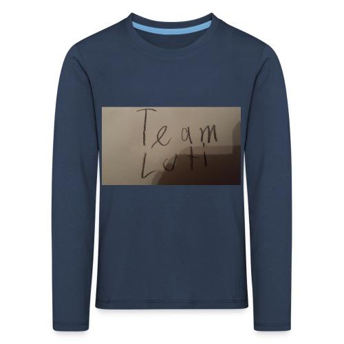 Team Luti - Kinder Premium Langarmshirt