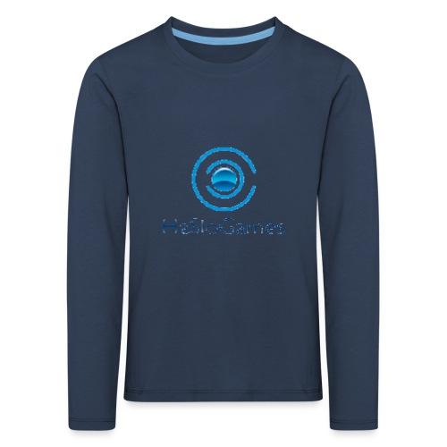 HasloGames Producten officieel logo - Kinderen Premium shirt met lange mouwen