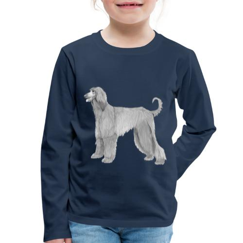 afghanskMynde - Børne premium T-shirt med lange ærmer