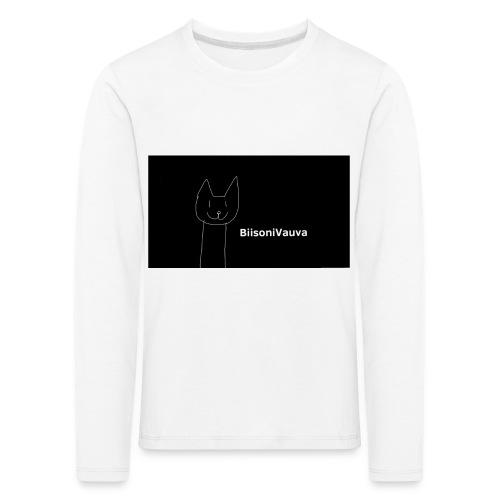 biisonivauva - Lasten premium pitkähihainen t-paita