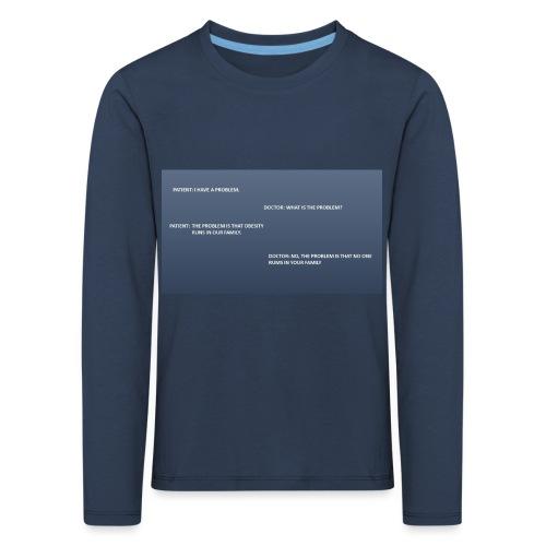 Running joke t-shirt - Kids' Premium Longsleeve Shirt