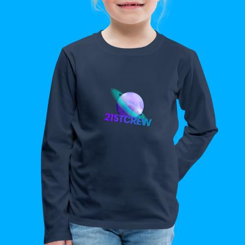 PurpleSaturn T-Shirt Design - Kids' Premium Longsleeve Shirt