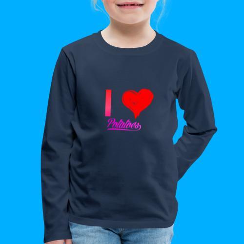 I Heart Potato T-Shirts - Kids' Premium Longsleeve Shirt