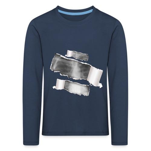 Chest X-Ray - Maglietta Premium a manica lunga per bambini