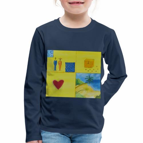 Viererwunsch - Kinder Premium Langarmshirt