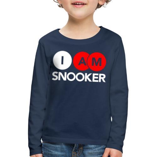 I AM SNOOKER - Kids' Premium Longsleeve Shirt