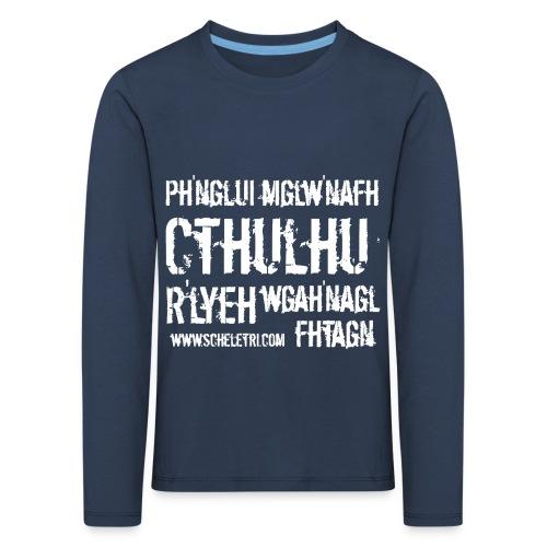 Cthulhu - Maglietta Premium a manica lunga per bambini