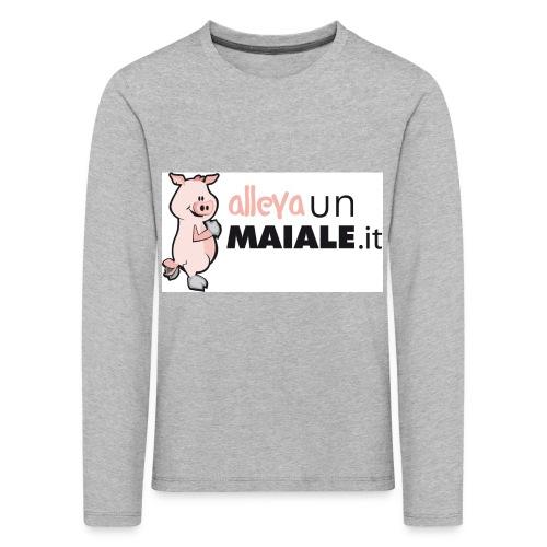 Coulotte donna allevaunmaiale.it - Maglietta Premium a manica lunga per bambini