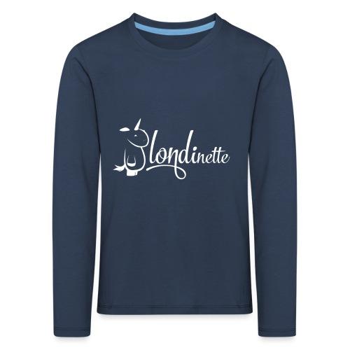 Blondinette - T-shirt manches longues Premium Enfant