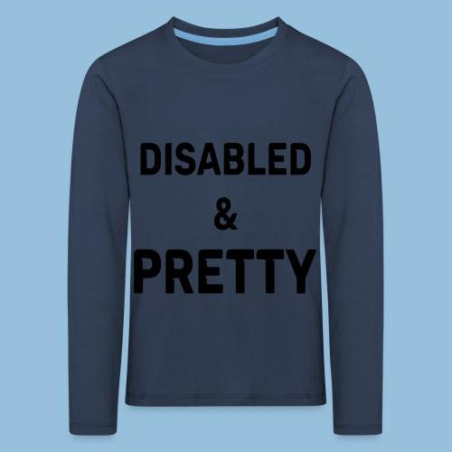 pretty1 - Kinderen Premium shirt met lange mouwen