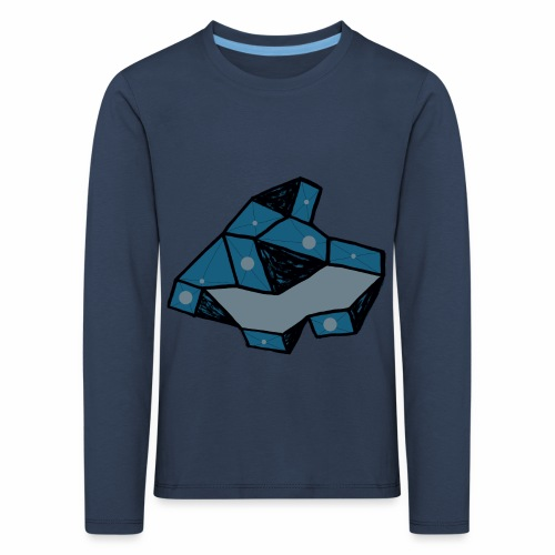 dot rock - Kinderen Premium shirt met lange mouwen