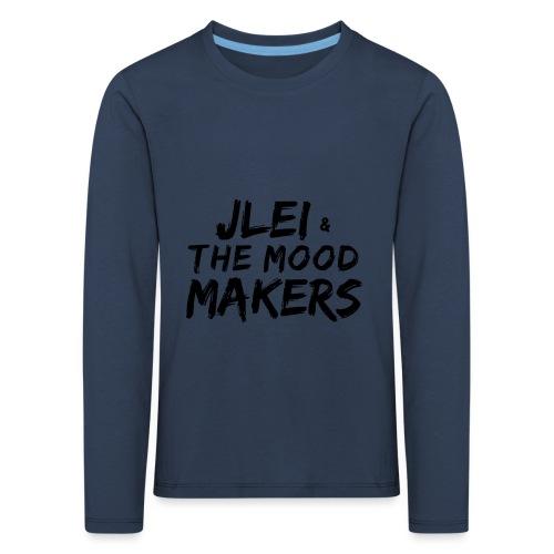 Jlei & The Mood Makers Schriftzug - Kinder Premium Langarmshirt