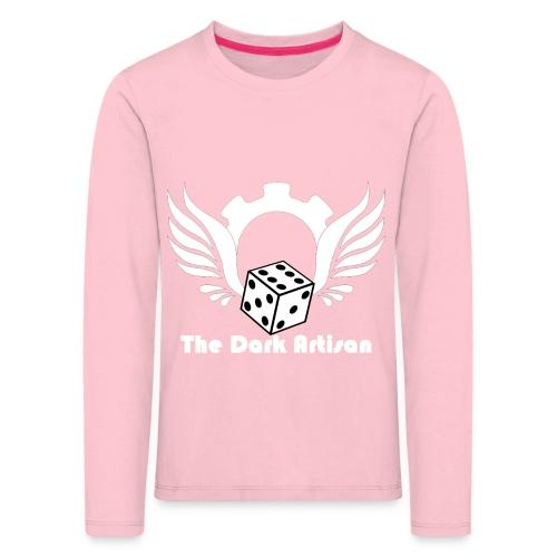 Artisan white logo - Kids' Premium Longsleeve Shirt