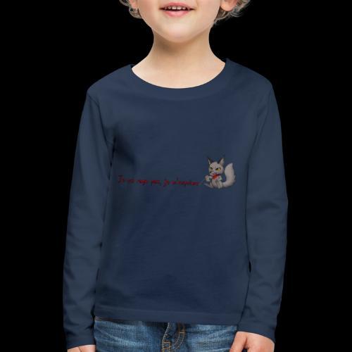 RavenWolfire Design - T-shirt manches longues Premium Enfant
