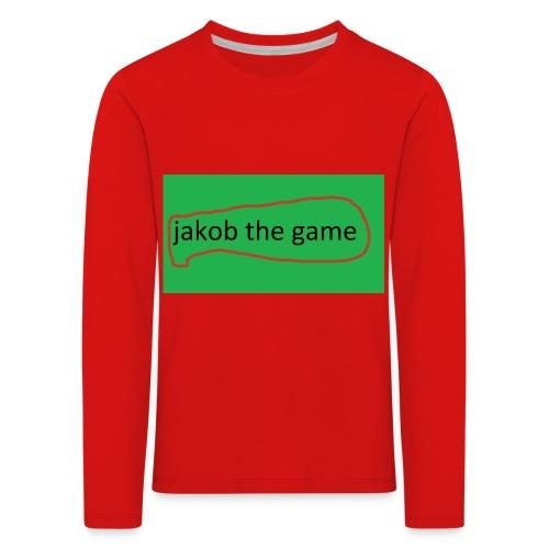 jakobthegame - Børne premium T-shirt med lange ærmer