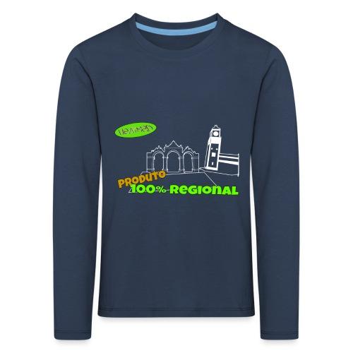 Dark City Gates - Kids' Premium Longsleeve Shirt