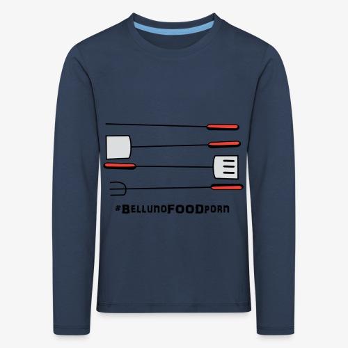 BBQ Belluno - Maglietta Premium a manica lunga per bambini